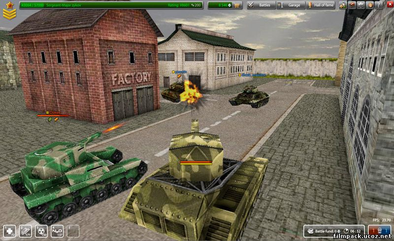 Игру в арена танки of tanks blitz взлом
