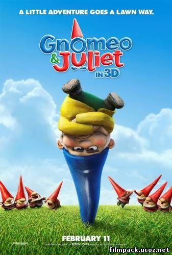 Гномео и Джульетта 3D (2011) онлайн